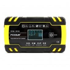 Автомобільний зарядний пристрій Foxsur FBC122408D 24V 4A 12V 8A