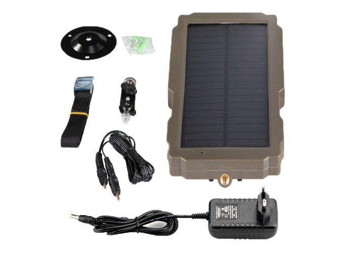 Сонячна панель з блоком живлення 5000 мАг для фотопасток