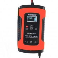 Автомобільний зарядний пристрій Foxsur FBC1205D 12V 4Ah-100Ah