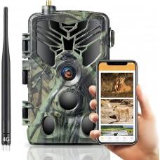 APP / 4G фотопастка HC810Pro Live (30Mp, Хмара, Онлайн відео)
