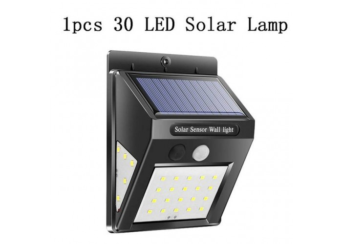 Прожектор на сонячній батареї Wall-Light 30LED
