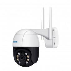 Поворотна WiFi камера Escam QF518 5MP (AI, Cloud, PTZ)