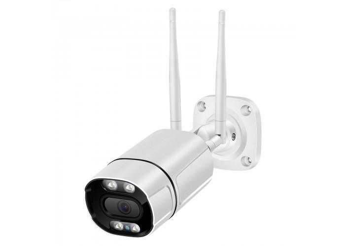 WiFi відеокамера Besder XMT501 5Mp AI біла