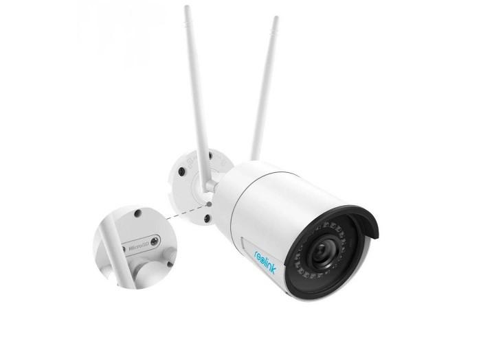 WiFi камера відеоспостереження Reolink RLC-410W (4Mp, IP, вулична)
