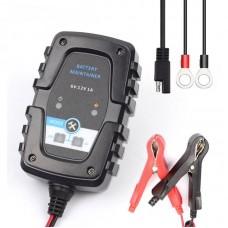 Автомобільний зарядний пристрій Lunda FBC0612 6V 12V 1A