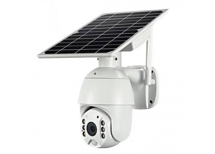 4G відеокамера Escam QF480 (2Mp, PTZ, Solar-Battery)