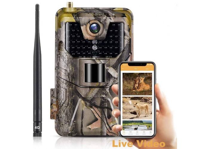 APP / 4G фотопастка HC900Pro Live (30Mp, Хмара, Онлайн відео)