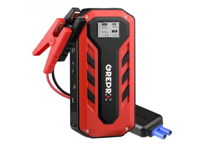 Бустер (пусковий пристрій) GrePro C101 1000А 12В 13800 мАг