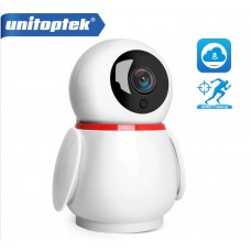 Поворотна WiFi камера Unitoptek T01-1080P (Auto Tracking)