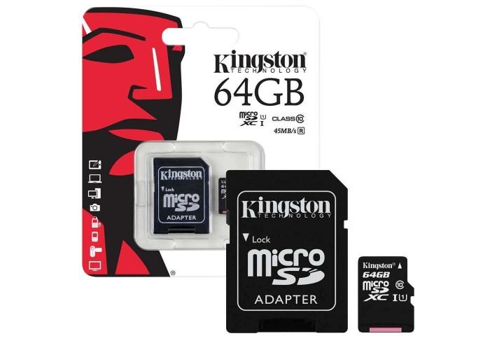 Kingston microSDHC Class 10 64Gb