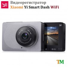 Відеореєстратор Xiaomi Yi Smart Dash WiFi Gray International Edition