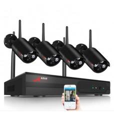 Комплект WiFi відеоспостереження Anran 4сh (AR-K04W13-03NB)