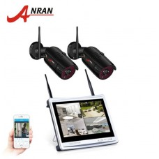 Комплект WiFi видеонаблюдения Anran 4сh + 12