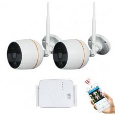 Комплект WiFi відеоспостереження Meisort 2ch (Mini Kit 20)