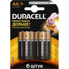 Батарейки (6 шт) Duracell AA LR06 MN1500
